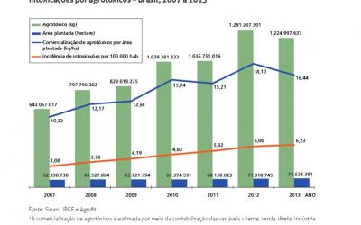 Dados do Ministério da Saúde derrubam o mito da eficiência da agricultura industrial