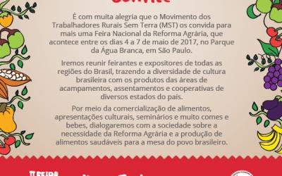 II Feira Nacional da Reforma Agrária