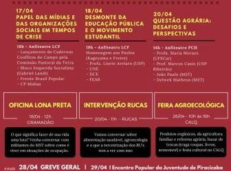 Jornada Universitária de Apoio à Reforma Agrária – ESALQ