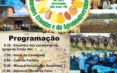 VI Feira Municipal de Sementes Crioulas e da Agrobiodiversidade – Rio Azul, PR