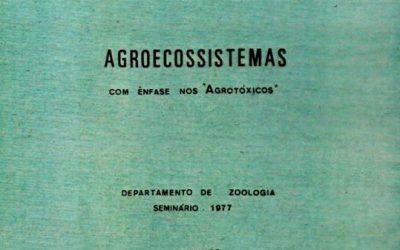 É Agrotóxico, e não defensivo agrícola