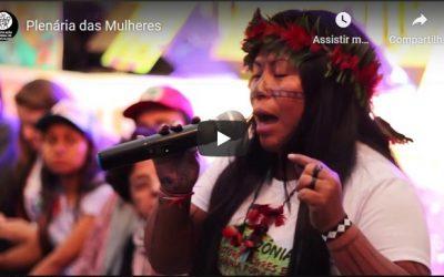 Plenária das Mulheres no IV ENA, Belo Horizonte, 2018