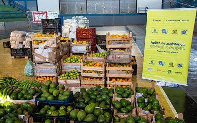 Famílias em vulnerabilidade social de Viçosa (MG) recebem cestas agroecológicas
