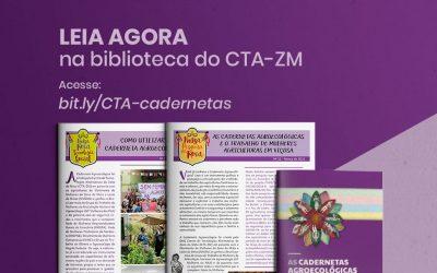 Projeto Cadernetas Agroecológicas estimula protagonismo econômico das mulheres