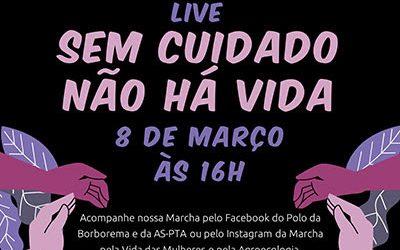 08 de março | 12ª Marcha pela Vida das Mulheres e pela Agroecologia