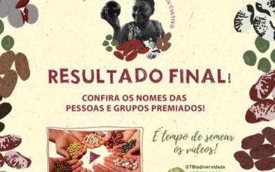 Com mais de 115 vídeos inscritos de todo o Brasil, Prêmio #AHistóriaQueEuCultivo divulga resultado final